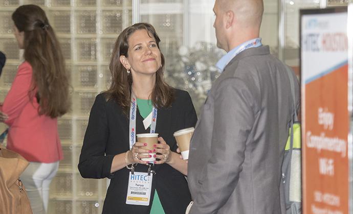 Tanya Venegas at HITEC Houston