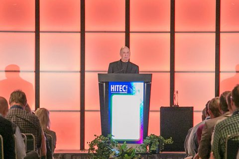 Barry Shuler at HITEC 2014